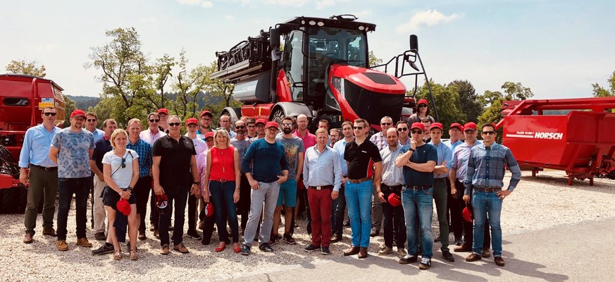 ITT VIMO visits Horsch production sites in Germany