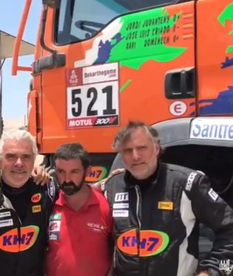 ITT: Dakar Winners (in Production and 6x6)