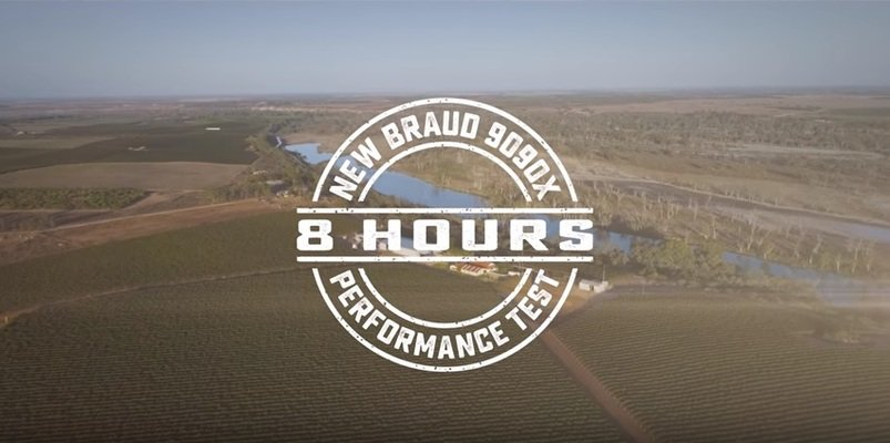 New Holland Grape Harvesting Performance Test