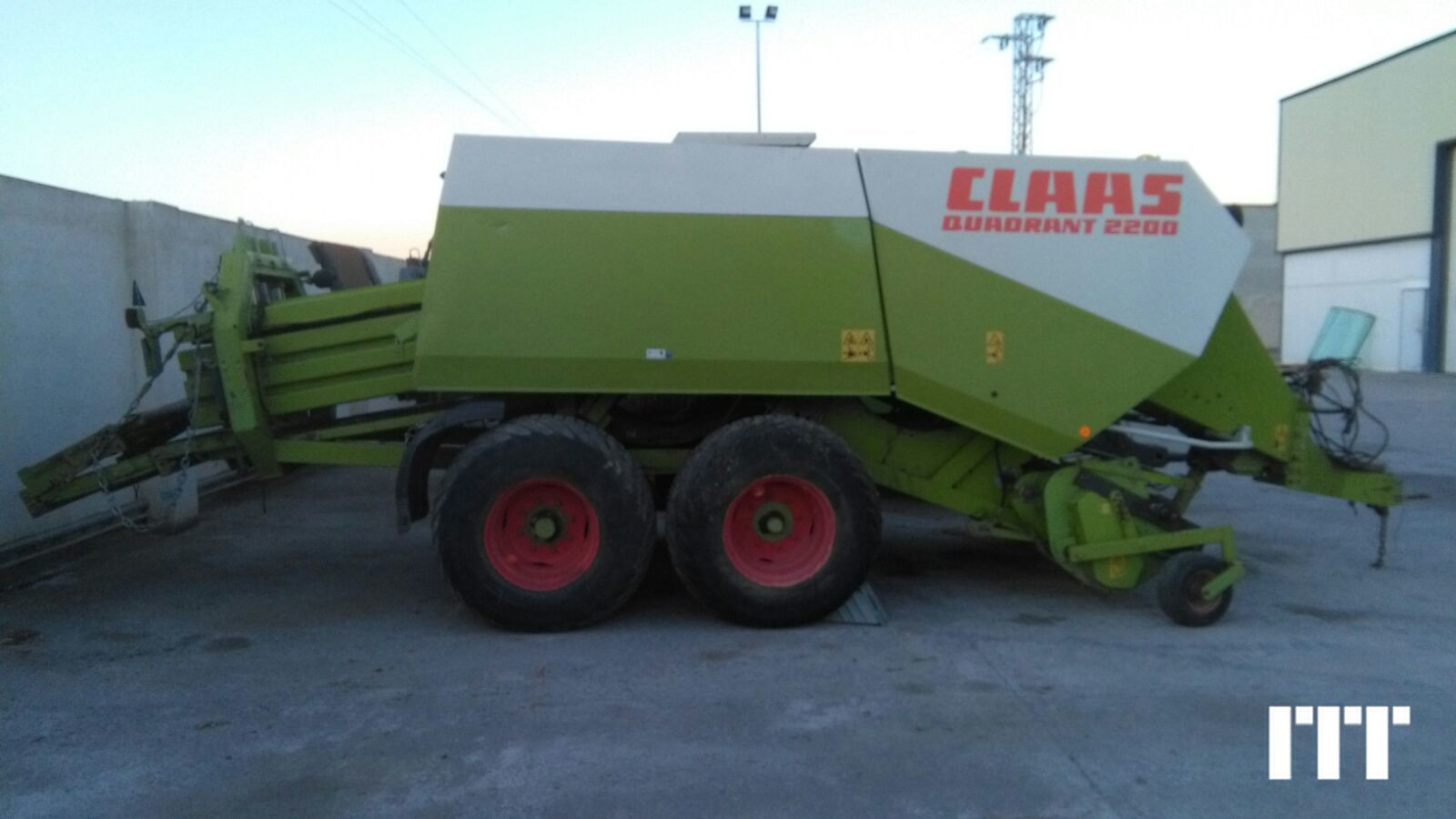 Large square baler Claas QUADRANT 22 - 1