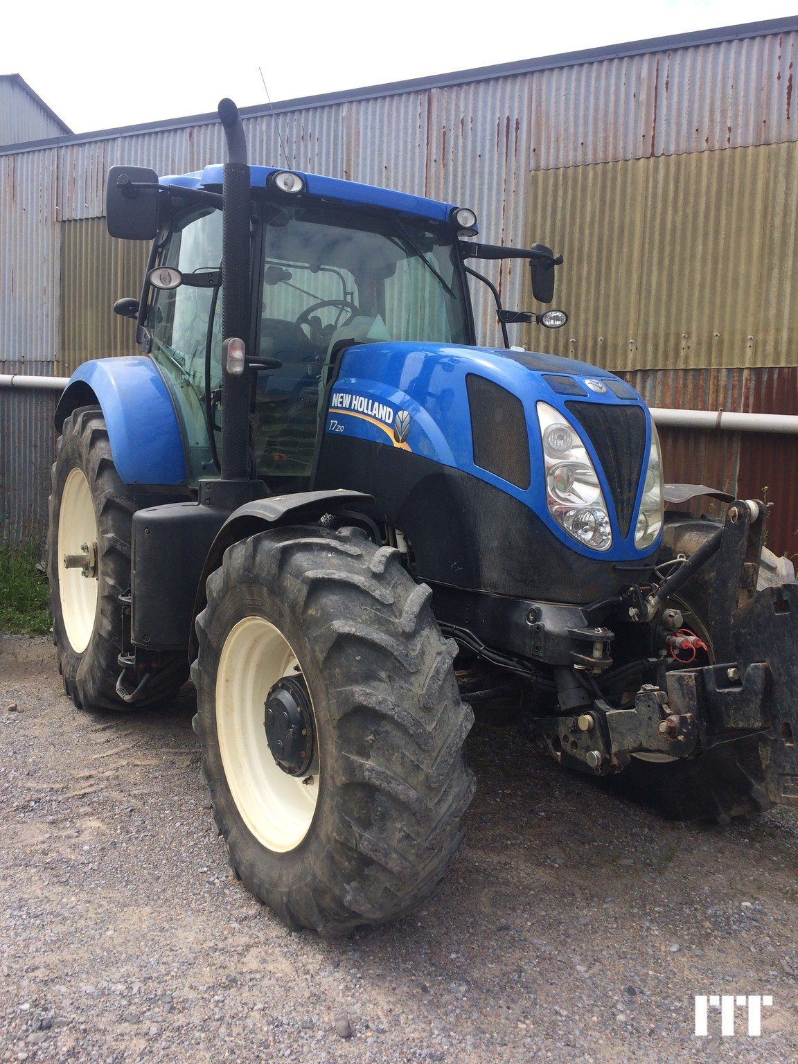Farm tractors New Holland T7 210 on sale on ITT1878