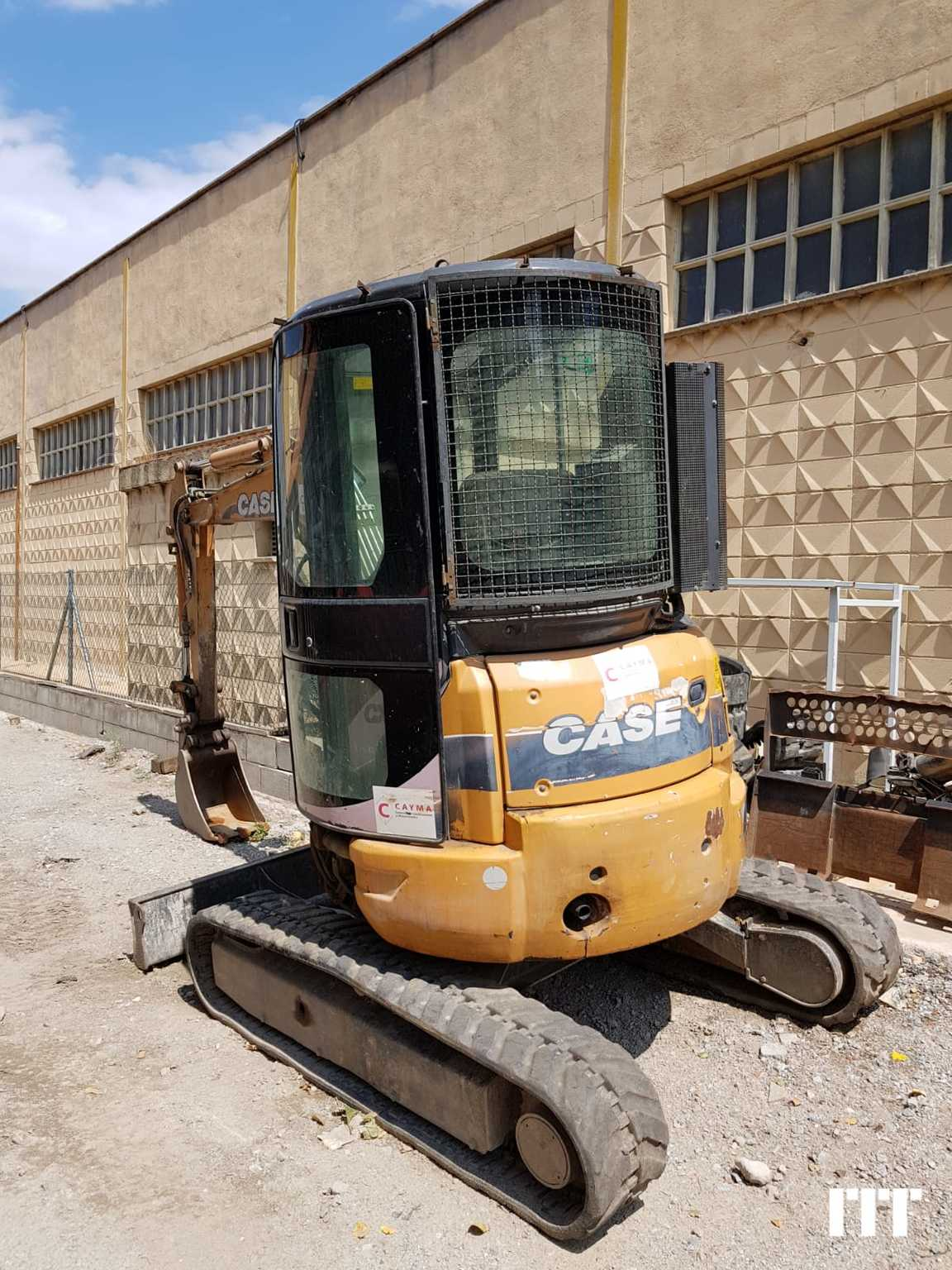 Mini digger Case CX 36B - 1