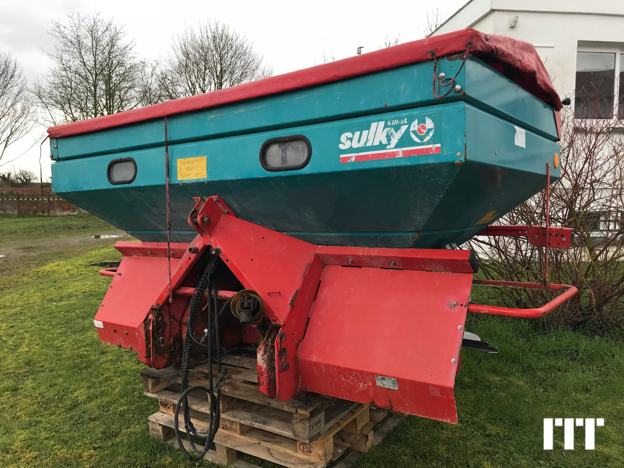 Fertiliser spreader Sulky DPAXL - 1