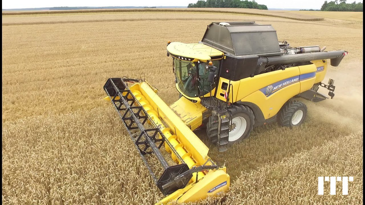 Combine harvester New Holland CX 8.70 - 1