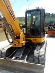 Mini digger Case CX 80C - 1
